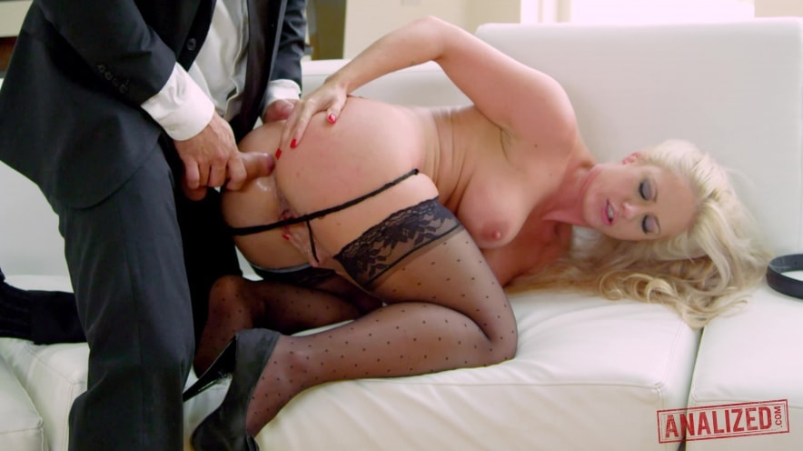Holly Heart is a Busty, Cock-Loving, Anal Whore